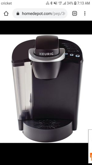 Classic K50 Black Single Serve Coffee Maker with Automatic Shut-Off for Sale in Byron, CA