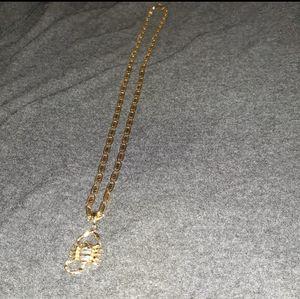 14K gold chain, 22 long, asking $1,200, cadena de oro de 14 kilates, 22 de largo, 24 gramos, pido $1,200 for Sale in Arlington, TX