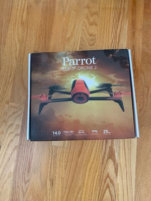 Parrot Bebop Drone 2 (Red) for Sale in Lowell, MA