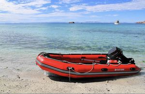14 feet Saturn inflatable boat- No motor, boat only for Sale in Delran, NJ