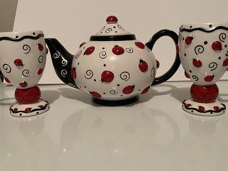 Lady Bug Tea Pot Set for Sale in Lantana,  FL