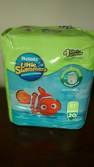 Huggies Swimmer Diapers size Small Reduced for Sale in Strongsville, OH