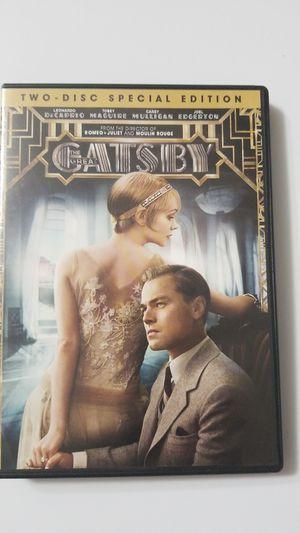 Gatsby DVD ( 2 Disc Set ) 2013 for Sale in Woodbridge, VA