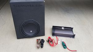 """MEMPHIS 10"""" BASS PACKAGE IN A TOYOTA TACOMA BOX for Sale in Fort Mill, SC"""