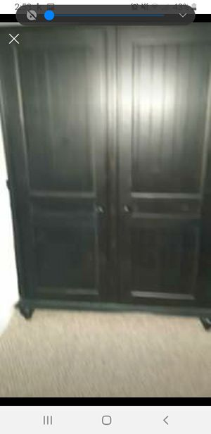 Computer Desk Armoire Must Go! for Sale in Damascus, MD