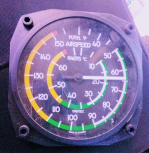 Techtic 6 in weather airspeed guage for Sale in Medford, OR