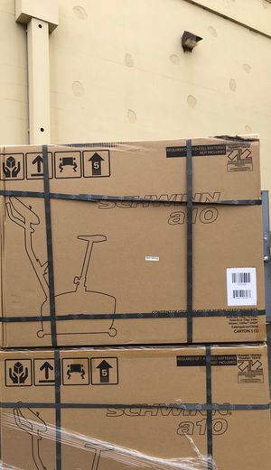 Just in - new in box Schwinn a10 upright exercise bike for Sale in Chandler, AZ