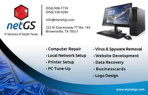 Computer Repair / Web Development for Sale in Brownsville, TX