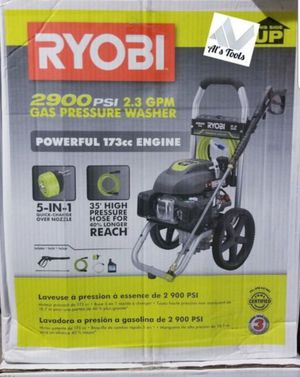 Ryobi 2900 PSI gas pressure washer brand new for Sale in Paramount, CA