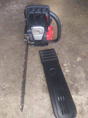 "Chainsaw PREDATOR BY POULAN. 18"" LIKE NEW CONDITION USED COUPLE TIMES. $85 OBO MAKE OFFER for Sale in Elgin, IL"