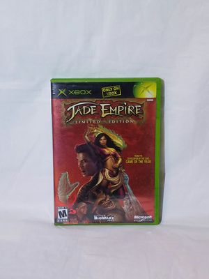 JADE EMPIRE LIMITED EDITION XBOX for Sale in Hyattsville, MD