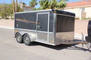 2005 Pace American Enclosed Motorcycle trailer 5x12 for Sale in Las Vegas, NV