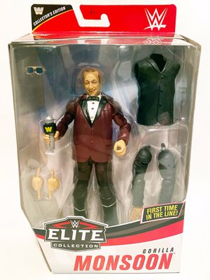 WWE Elite Figure Gorilla Monsoon for Sale in Tucson, AZ