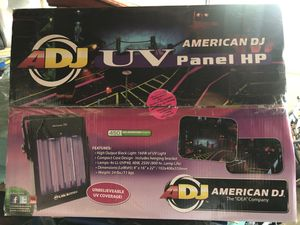 DJ Equipment American DJ 450 UV Blacklight Panel for Sale in Petaluma, CA
