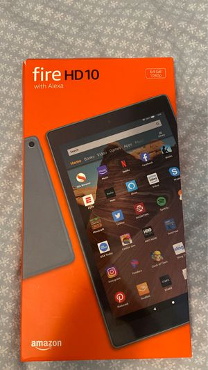 Fire HD10 64 gb tablet for Sale in Broomfield, CO