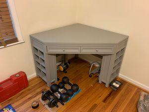 Corner Desk with Cubby Storage Legs for Sale in Decatur, GA