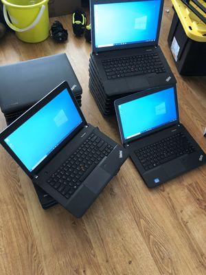 Lenovo Thinkpad laptops Intel i5 @ 2.5GHz, HD 500gb, Ram 4gb, webcam, dvd, wifi, hdmi... for Sale in Queens, NY