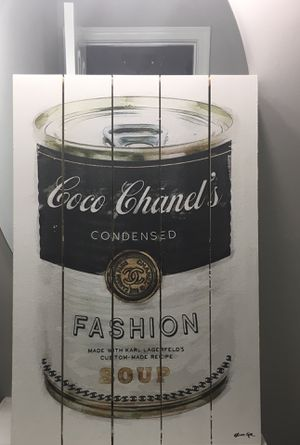 Oliver Gal Coco Chanel fashion soup for Sale in Falls Church, VA