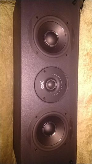 Polk audio cs 225 center channel speaker for Sale in Monona, WI