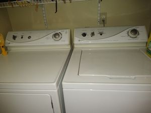 MAYTAG, matching heavy duty Washer, dryer set for Sale in Vancouver, WA