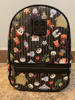 The Nightmare Before Christmas Mini Backpack By Loungefly for Sale in Santa Ana, CA