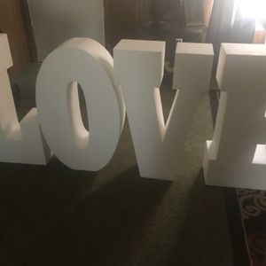 3D letters for Sale in Durham, NC