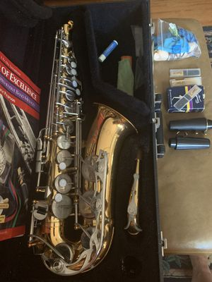 Vito alto saxophone with case and all extras. Made in USA. for Sale in Tampa, FL