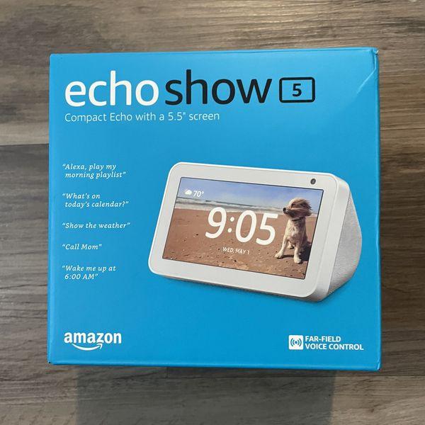 Amazon Echo Show 5 - Brand New