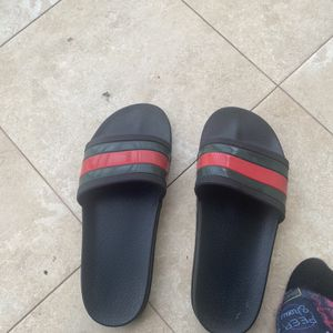 Gucci slides authentic sz 10 for Sale in Clinton, MD