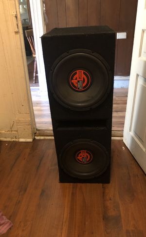 12's Quantum Audio Speakers for Sale in Raleigh, NC