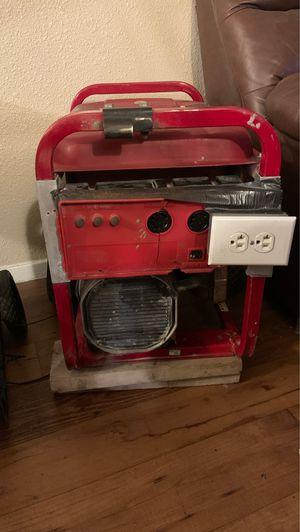 Generac electric start portable generator for Sale in San Antonio, TX