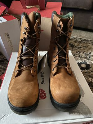 Brand new/never worn Size 12B red wing high boot. E-rated for Sale in La Porte, IN