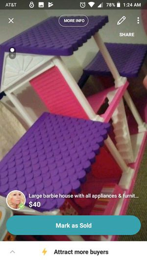 Very large Barbie house for Sale in Stevens Point, WI