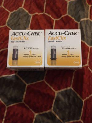 Accu-check. FastClic. 100+2 Lancets for Sale in Riverside, CA