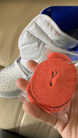 Nike Air Jordan 1 AJ1 High Zoom Racer Blue White Men's Size 13 for Sale in SEATTLE, WA