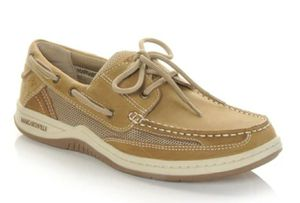 Men's Margaritaville Leather Lace-Up Boat Shoe for Sale in Tampa, FL