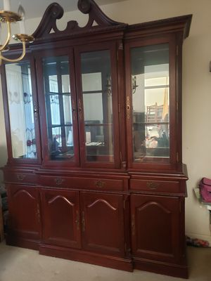 Chine cabinet/hutch for Sale in Denver, CO