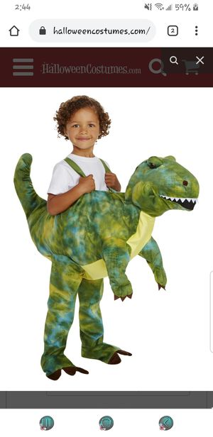 Brown t rex dinosaur costume 3t-4t for Sale in Los Angeles, CA