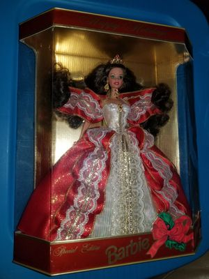 Collectible 1997 Happy Holidays Barbie Special Edition! Vintage for Sale in Altamonte Springs, FL