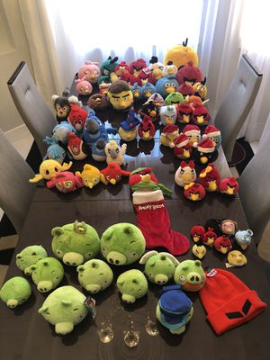INSANE/ RARE Angry Birds Collection!! for Sale in Davie, FL