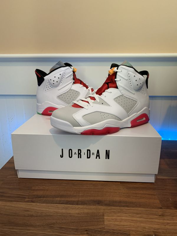 "Air Jordan 6 Retro ""Hare"" Sizes 10.5 and 11"