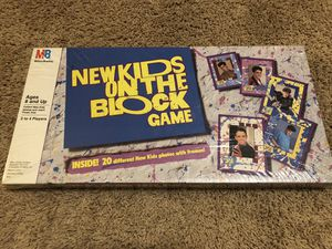 RARE New Kids on the Block board game, factory sealed for Sale in Mokena, IL
