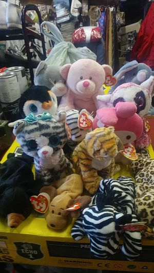 A Collection of 13 Vintage Beanie Babies for Sale in San Leandro, CA