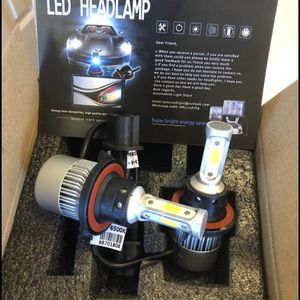 Brand New 2 Bulbs For $35 Car LED Headlight Kit All Model In Stock H1/H4 H7 H8 H9 and H11 /H10 /9003 and 9004/9005/HB3 and 9006/HB4 /and 9007/9008 H for Sale in Blacklick, OH