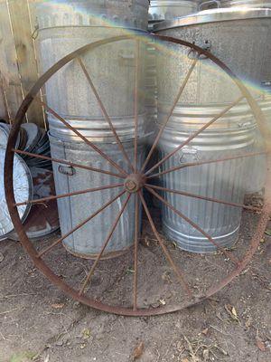 Antique wagon wheels x 2 for Sale in Newport News, VA