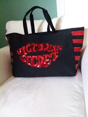 Brand new Victoria Secret black sequin tote bag for Sale in San Dimas, CA