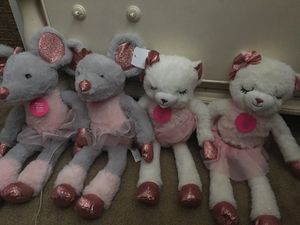 Mice and sheep ballerina plushies! for Sale in San Jose, CA