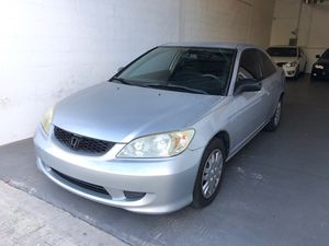 2004 HONDA CIVIC LX,, CLEAN TITLE,, MINT CONDITION,, MUST SEE,, MANUAL TRANSMISSION,, EVERYONE APPROVED,, $1000 DOWN!!! for Sale in Hollywood, FL