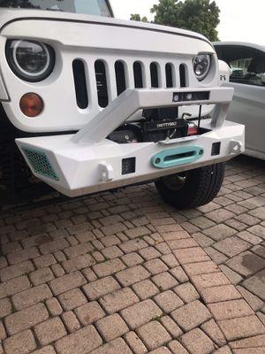 Jeep bumper for Sale in South Miami, FL