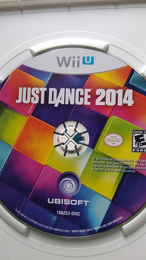 2014 just dance Wii u for Sale in Houston, TX